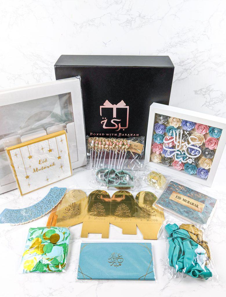 Eid Decor Contents from Eid Barakah Box